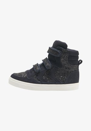 High-top trainers - graphite