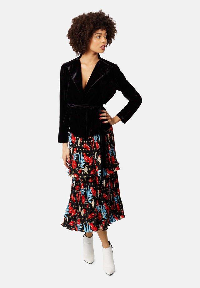MAGGIE - A-line skirt - black
