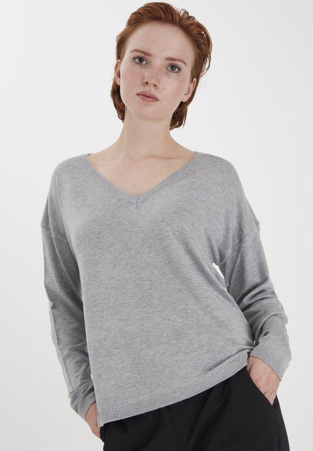 IHMAFA - Sweter - grey melange