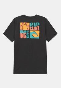 Rip Curl - OCEANZ BOY - T-shirt con stampa - black - 1