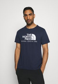 The North Face - BEREKELY CALIFORNIA TEE - Print T-shirt - aviator navy - 0