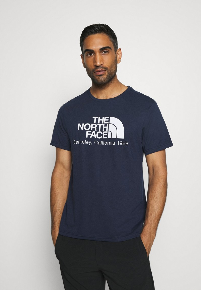 The North Face - BEREKELY CALIFORNIA TEE - Print T-shirt - aviator navy
