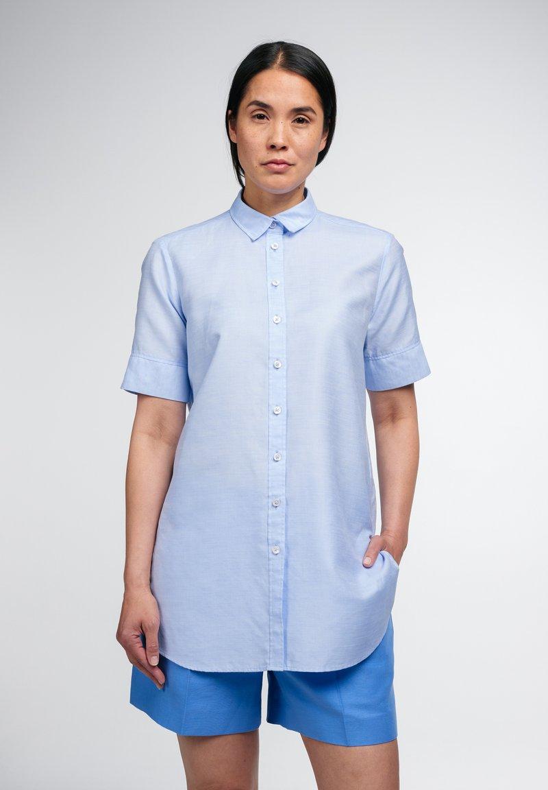Eterna - Button-down blouse - hellblau