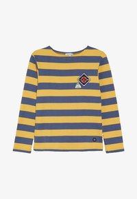 Armor lux - BLOCKCOLOUR - Long sleeved top - jaune/navire - 3