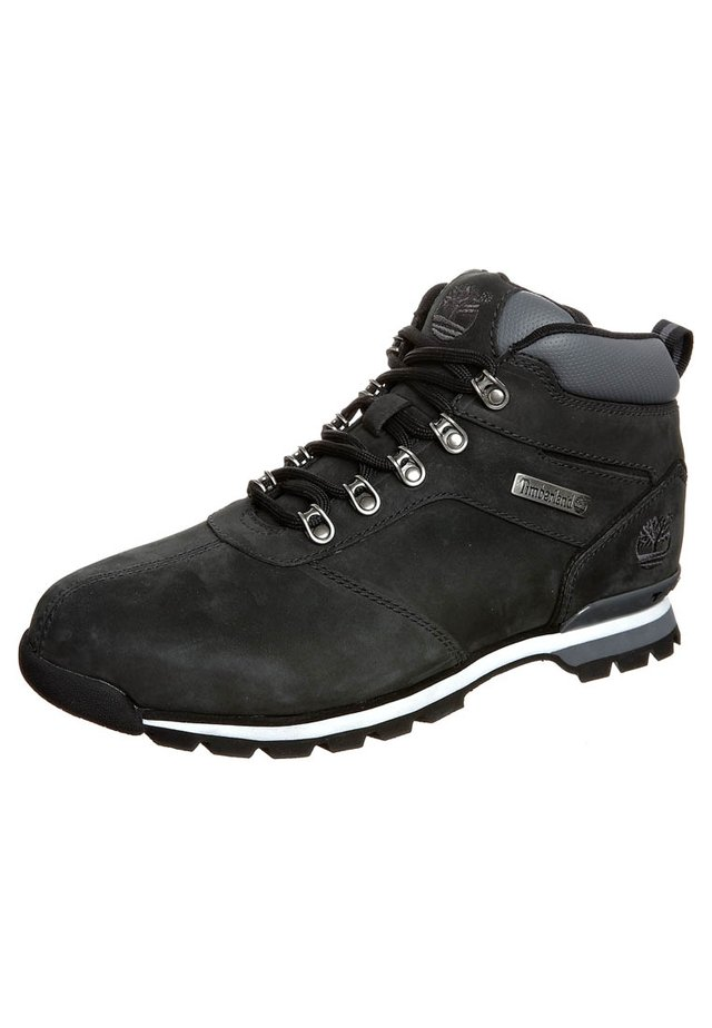 SPLITROCK  - Lace-up ankle boots - black nubuck