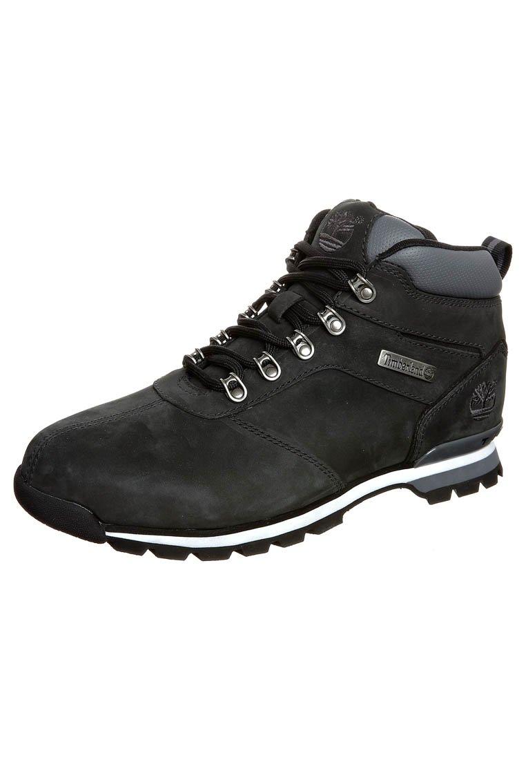 Timberland - SPLITROCK  - Lace-up ankle boots - black nubuck
