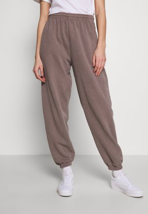 PANT - Tracksuit bottoms - chocolate