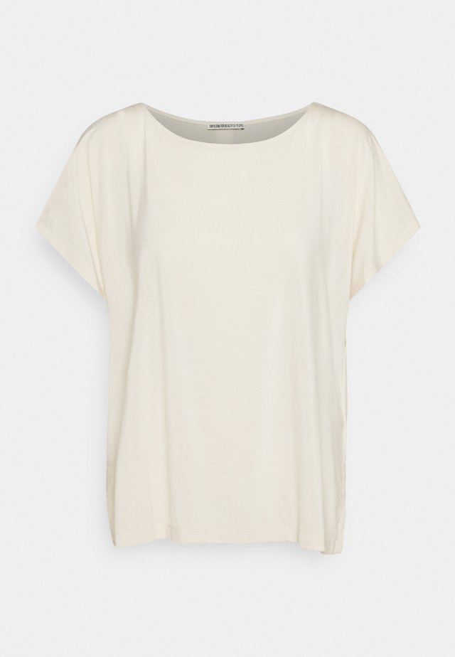 KIMANA - T-shirt basic - ecru