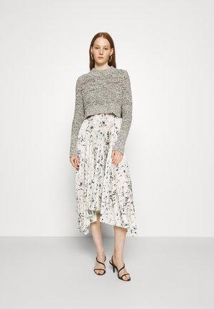 LERIN YERMO DRESS 2-IN-1 - Svetr - black/chalk white