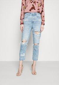 American Eagle - MOM - Slim fit jeans - rustic blue - 0