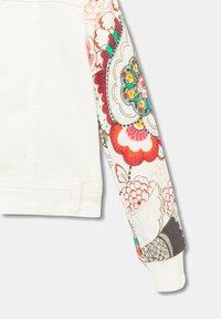 Desigual - CHAQ_ALDUMBERRI - Denim jacket - white - 3
