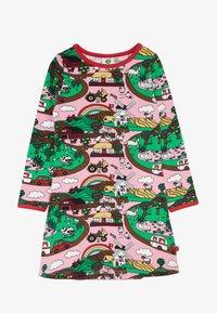Småfolk - DRESS LANDSCAPE - Jersey dress - sea pink - 2