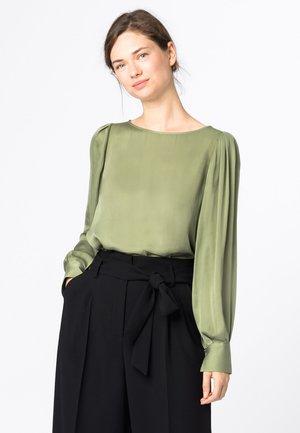 Blouse - lindengrün
