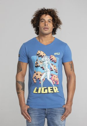 LIMITED TO 360 PIECES - CHRIS EVENHUIS - GAMING - Print T-shirt - blue