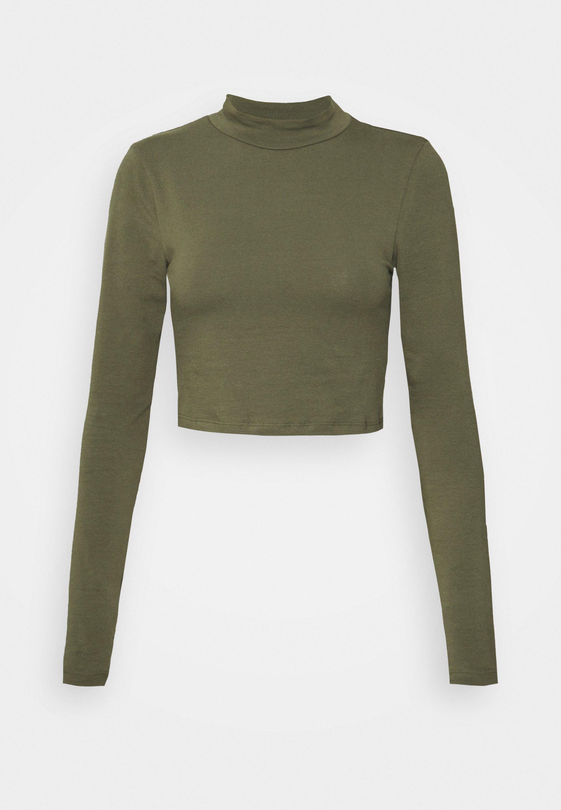 Women NMLEONORA HIGH NECK - Long sleeved top