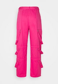 The Ragged Priest - PANT D-RING STRAP DETAILS - Kalhoty - pink - 1