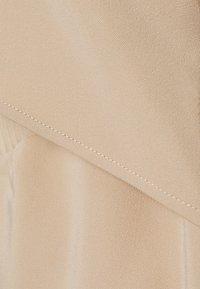 NA-KD - DRAWSTRING CUT OUT DRESS - Vestido informal - beige - 2