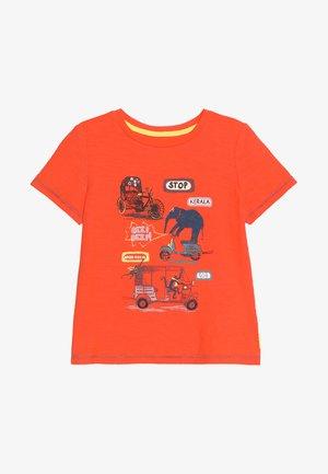 SUNNY TEE - Triko spotiskem - orange