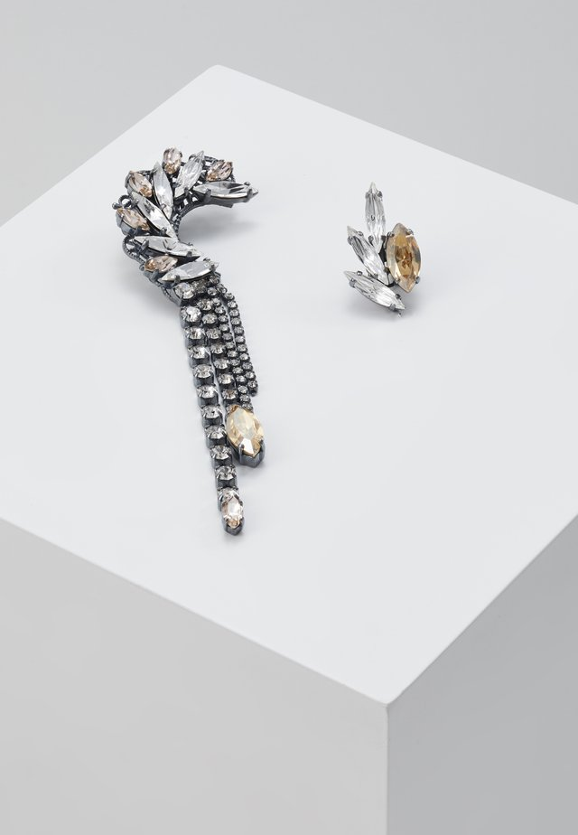 Orecchini - gold/gunmetal