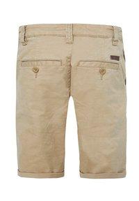 WE Fashion - WE FASHION JUNGEN-SLIM-FIT-CHINOSHORTS - Shorts - beige - 3