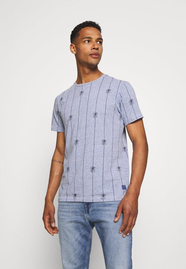 TEE - Print T-shirt - moonlight blue