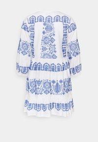 Milly - DEBBIE DRESS - Jurk - white/blue - 1