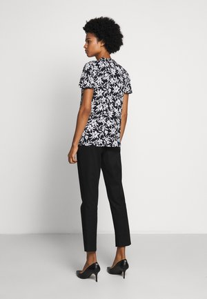 SLEEK - T-shirts med print - navy