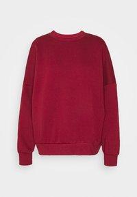 Even&Odd - OVERSIZED CREW NECK SWEATSHIRT - Sweatshirt - red - 4