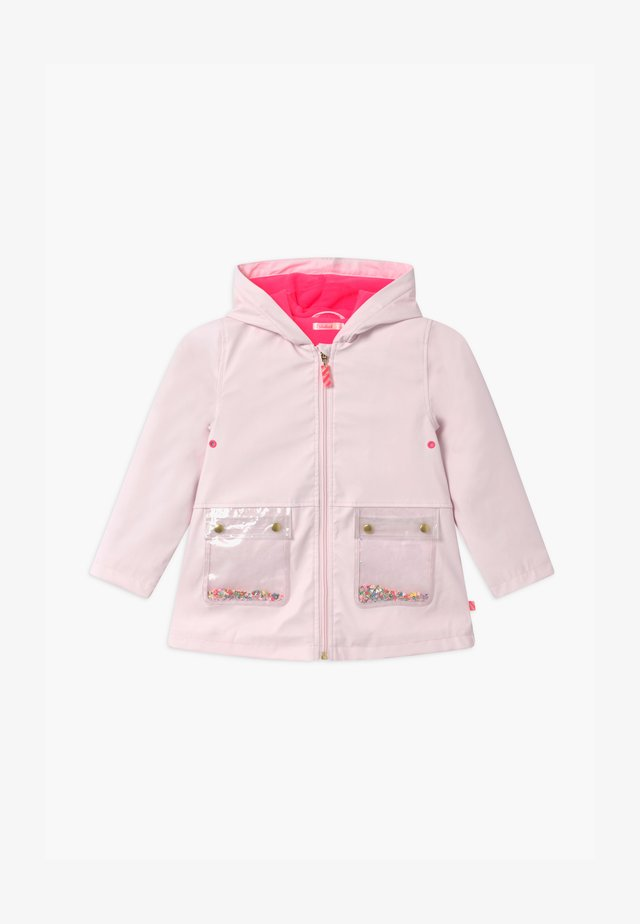 Waterproof jacket - pinkpale