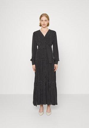 COSTANTINO ABITO POIS COUPE - Maxi dress - black