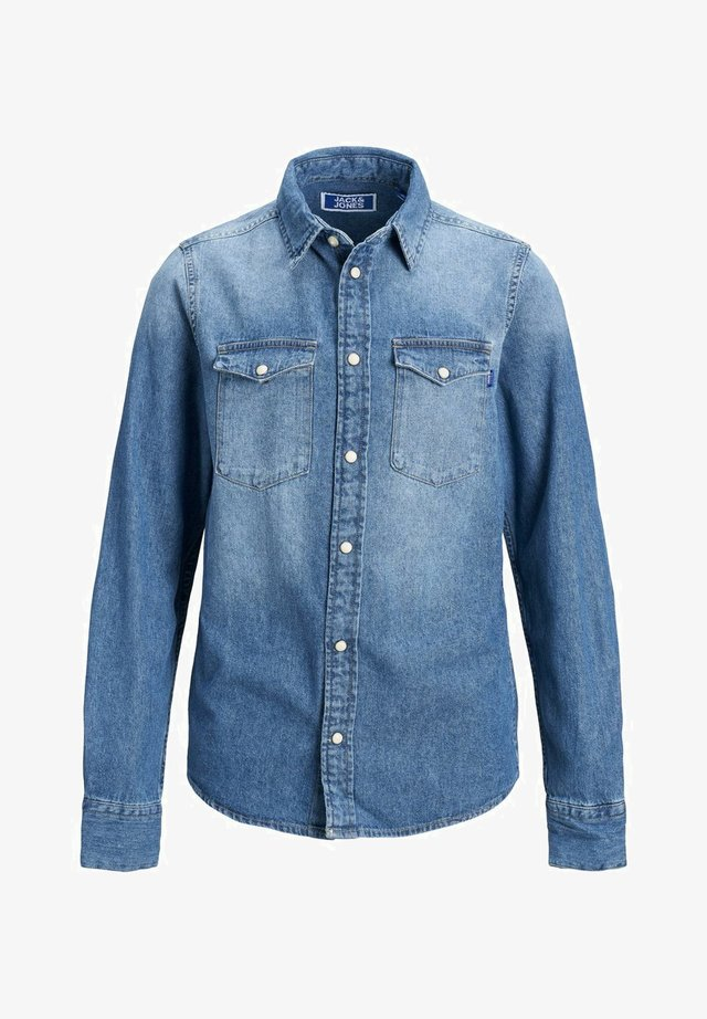 Overhemd - medium blue denim