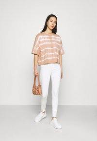 ONLY - ONLRAIN LIFE - Jeans Skinny Fit - ecru - 1