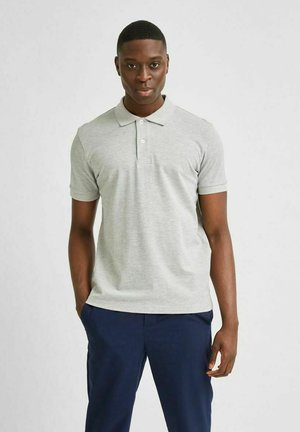 SLHNEO - Polo shirt - light grey melange