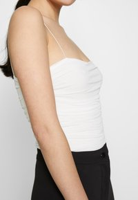 Nly by Nelly - THIN STRAP - Top - white - 5