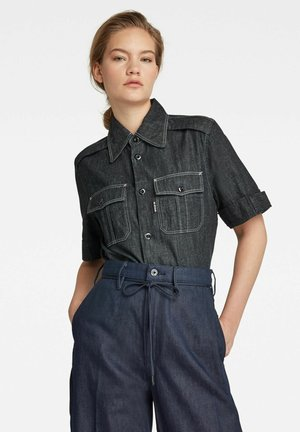 OFFICER  - Button-down blouse - rinsed