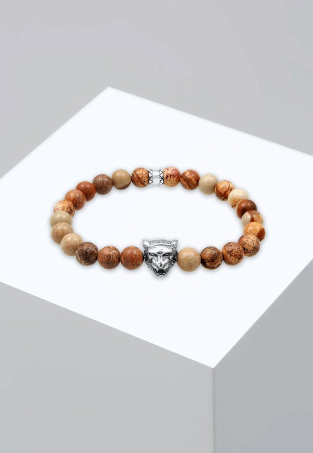 TIGERKOPF - Bracelet - brown