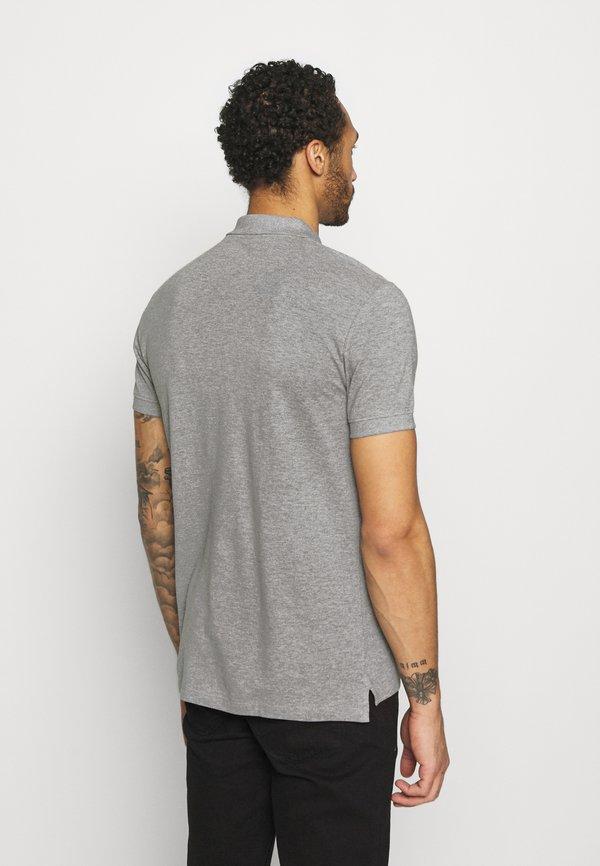 Esprit Koszulka polo - light grey/jasnoszary Odzież Męska WQLA