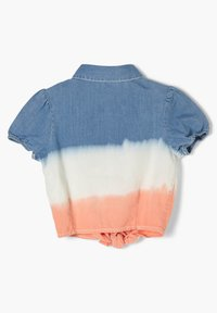s.Oliver - Button-down blouse - blue stripes - 1