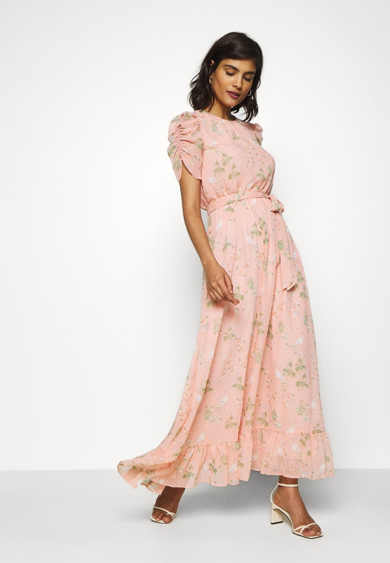 Banana Republic - SMOCKED MAXI - Occasion wear - light pink