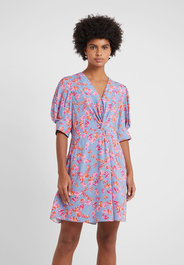 MARISA - Shirt dress - pacific blue print