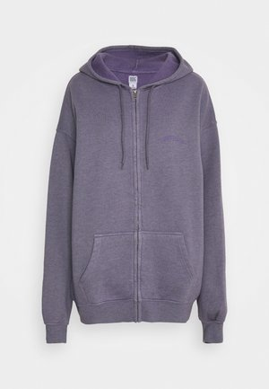 ZIP THROUGH HOODIE - Zip-up sweatshirt - lilac