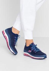 Skechers Sport - SKECH-AIR ELEMENT - Sneaker low - navy/hot pink - 0