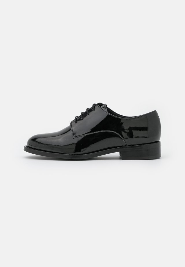 OLAYA VEGAN - Šněrovací boty - black