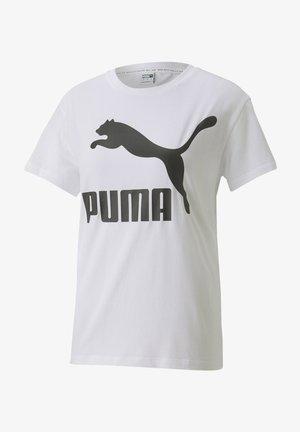 CLASSICS LOGO - T-Shirt print - white