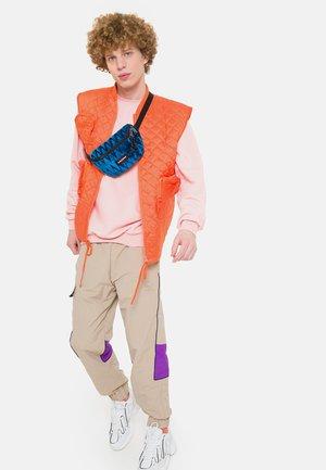SPRINGER - Bum bag - velvet blue