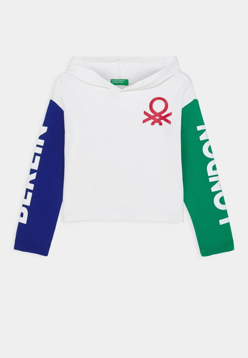 Benetton - FUNZIONE GIRL  - Jersey con capucha - white