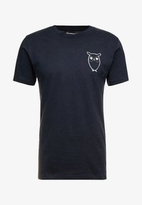 WITH OWL CHEST LOGO  - T-shirt print - total eclipse