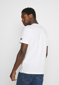 TOM TAILOR - PRINTED HARBOUR STRIPE - Print T-shirt - off white - 2