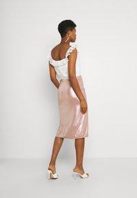 TFNC - JESSIE SKIRT - Pencil skirt - nude - 2