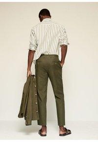 Mango - Trousers - khaki - 2
